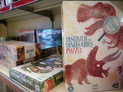 Discover the dinosaurs puzzle by Londji id_131
