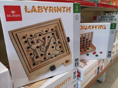 Giochi da tavolo in legno Dal Negro id_137