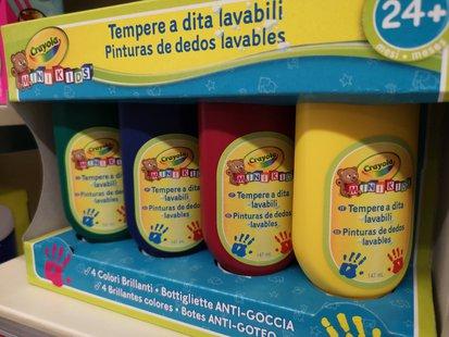 Tempere a dita lavabili Crayola id_226