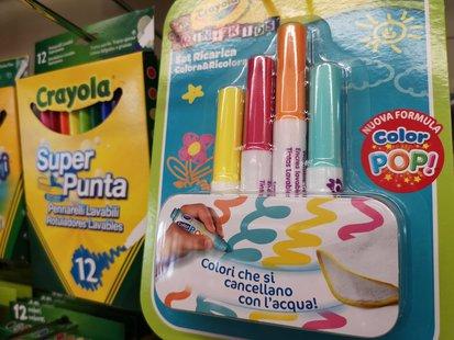 Crayola - Colori che si cancellano con l'acqua id_227