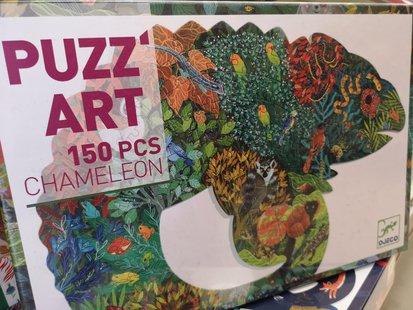 Puzz'Art Chameleon - 150 pezzi - Puzzle by djeco id_254