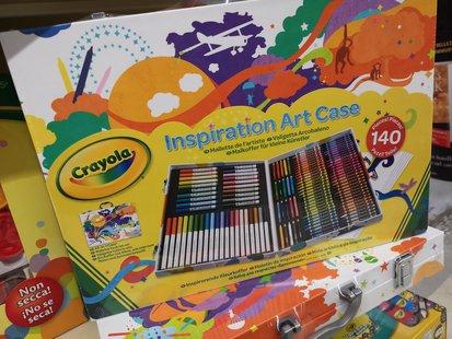 Inspiration Art Case by Crayola - Valigetta Arcobaleno id_246