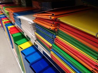 Cartelline di ogni domensione e colore  id_294