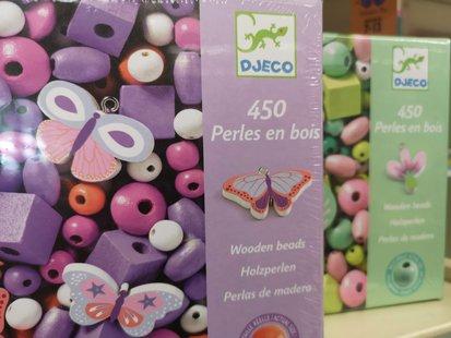 450 perles en bois djeco id_404