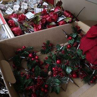 Decorazione natalizia bacche pungitopo  id_619