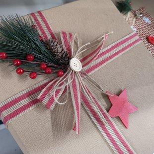 Scatola regalo natalizia id_605