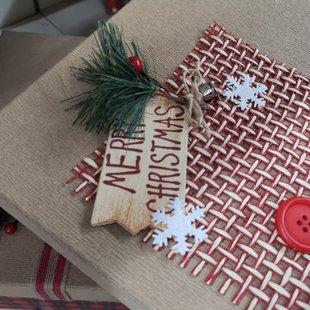Scatola regalo Merry Christmas id_606