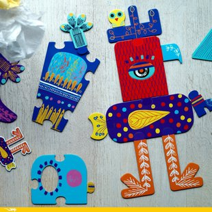 Djeco Crazy puzzle id_772