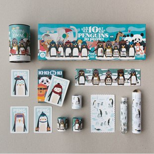 Londji diversi puzzle pinguini id_779